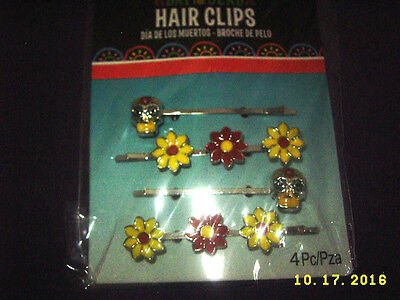 DIA DE LOS MUERTOS/Day of the Dead Hairclips HALLOWEEN/Cosplay/holiday festival](Festival Of The Dead Halloween)