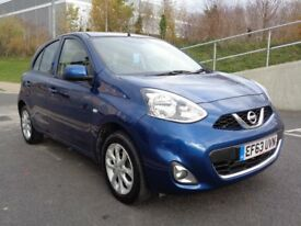 2014 NISSAN MICRA , AUTOMATIC PETROL MINT CONDITION ,23000 ON CLOCK, CATD REPAIRED, 3 MONTH WARRANTY