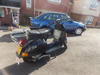 classic vespa px 200cc reg as 125cc