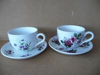Portmerrion cups and saucers