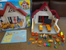 Playmobil Boxed As New Complete with Instructions Playmobil Play Set School 6865 Only £15 ideal gift