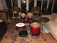 Pearl Masters Premium legends full drum kit