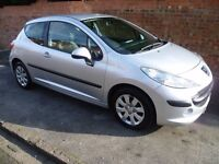 PEUGEOT 207 HDi 1.4, LONG MOT, FULL SERVICE HISTORY WITH A BRAND NEW CAMBELT & ONLY £30 A YEAR TAX