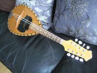 Traditional hand made round back mandolin