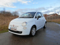 FIAT 500 POPULAR HATCHBACK STUNNING BLUE ONLY 61K MILES £30 TAX BARGAIN £2450 *LOOK* PX/DELIVERY