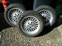 BMW 5 SERIES E39 THREE TURBINE ALLOY WHEELS