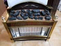 Gas fire Parkinson Cowan sandringham H68cm W68cm D20cm