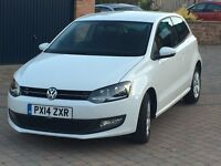 VW Polo 1.2 Match Edition 3 Door 2014 Immaculate Condition