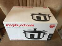 BNIB sealed Morphy Richards slow cooker QUICK SALE