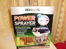 Power sprayer by Ronseal