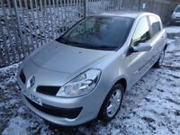 RENAULT CLIO RIP CURL 1.5 DCI 5 DR 2007 92,000 MILES MOT 16/02/19 SERVICE HISTORY * £30 ROAD TAX *