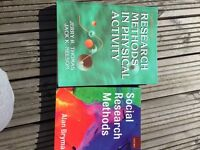 Research methods books