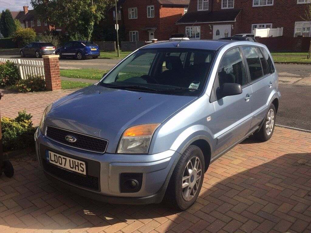 2007 Ford Fusion Zetec 1.4 Petrol Manual Blue 1 owner from new