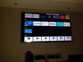 65 INCH SONY ANDROID SMART LED TV SWAP FOR ZAFIRA B