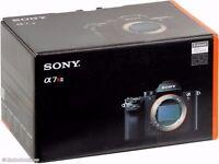 NEW Sony camera a7r mark ii