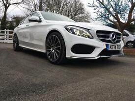 "2014 Mercedes C250 AMG LINE 33,000 Miles Brand New 19"" Alloys & Tyres"