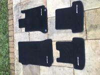 Mercedes c class AMG floor maps in very good condition