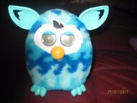 Light Blue Furby battery operated toy