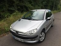 2005 Peugeot 206 1.1 S 5dr 12 Months Mot 1 Owner From New Full Service History