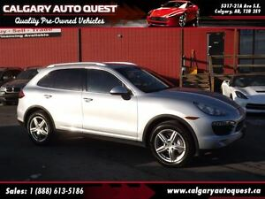 2014 Porsche Cayenne S 4.8L/V8/AWD/NAVI/B.CAM/LEATHER/ROOF
