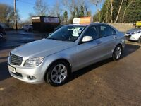 Late 2007 Mercedes C220 CDI Diesel Automatic **Service History* *Finance and Warranty* (a4,320d,golf