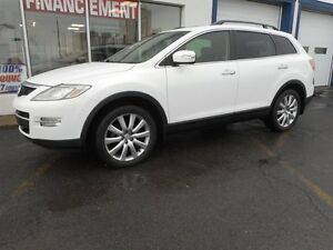 2008 Mazda CX-9 Traction intégrale, 7 places, toit cuir, antirou