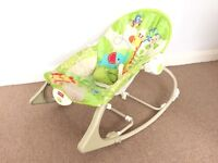 Fisher Price Rainforest Friends Infant-to-Toddler Rocker