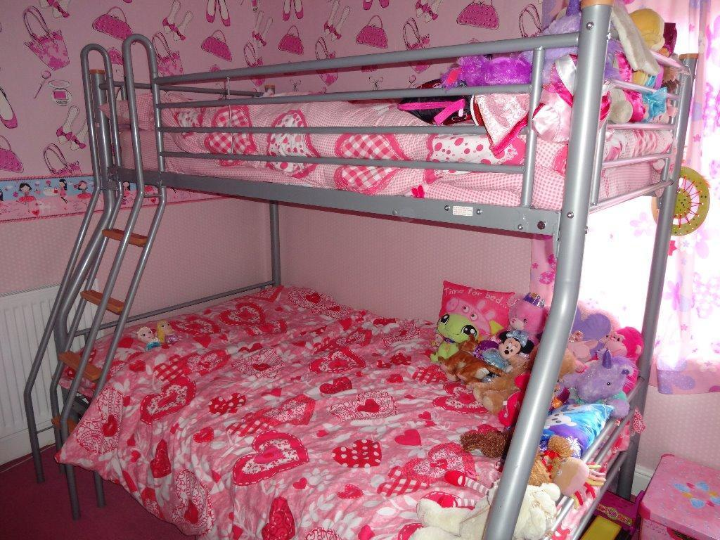 Hyder Galaxy G2 Triple Sleeper Bunk Bed Comes With