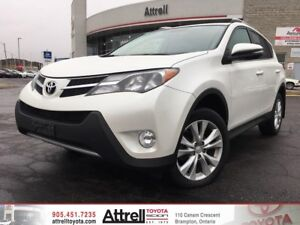 2015 Toyota RAV4 Limited. Smart Key, Navigation, Backup Camera.