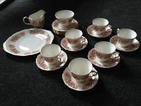 Coldclough bone china tea set