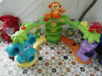 £120 fisher price baby ball drop music play station large toy