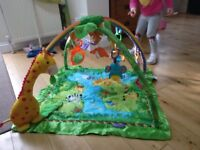 Fischer-Price play gym with arches