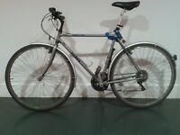 Dawes men's Life Steel steel frame 21 speed city commuting bike