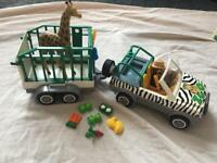 *SOLD PENDING COLLECTION* Playmobil Zoo Set