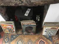100 lp vinyl records