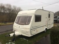 Avondale Rialto 2 berth 2004 16.17 ft end changing area electronic heating system blinds fly nets
