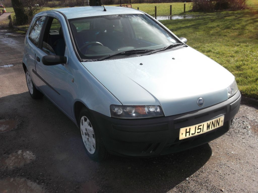 2001 fiat punto mia 1 2 mot march 2017 only 43 000 miles only 495 in southampton. Black Bedroom Furniture Sets. Home Design Ideas