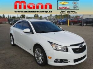 2014 Chevrolet Cruze 2LT | PST paid, RS, Manual, Sunroof, Leathe