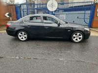 2008 08reg BMW 520d SE automatic may MOT black SPARES OR REPAIRS