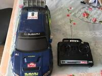 TAMIYA SUBARU RADIO CONTROLLED RC CAR