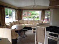 2007 Cosalt Riverdale Double Glazed 35x12 2 bedrooms with en-suite static caravan for sale in VGC