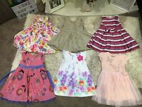 Bundle of girls clothes from lovely home - Many items barely worn / worn once