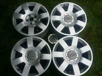 17 inch 5x112 genuine Audi A8 alloys wheels