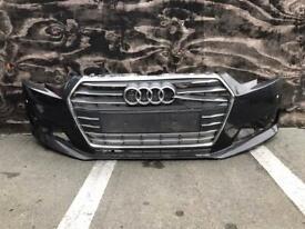 Audi A4 B9 Se 2016 2017 2018 genuine front bumper with PDC sensors