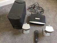 Bose 3-2-1 surround sound system (home cinema system)