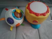 VTech Crawl 'n' Learn ball and spinning drum