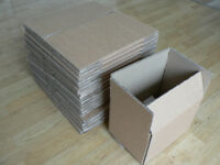 46 Postal Cardboard Boxes. Double-Walled. Flat-packed.