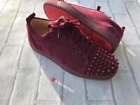 Christian Louboutin Low Top Suede Size 6 & 8 Available!