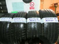 225 65 16 MATCHING MICHELIN TYRES 6MM TREAD X4 £120 x2-£65 INC BALANCE AND FITTING OPEN 7 DAYS