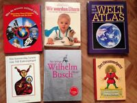 12 German books only for